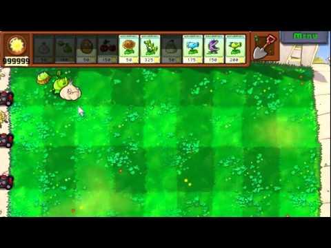 Plants VS Zombies Cheats - Unlimited Sun/Instant Refill/Godlike Plants