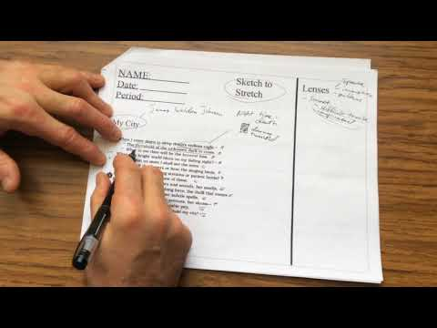 T9bailey Teaches: Sketch to Stretch another Sonnet