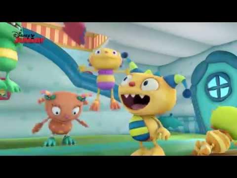Henry Hugglemonster | Bouncy Castle Fun!  | Disney Junior UK