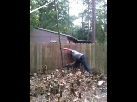Finishing the bamboo