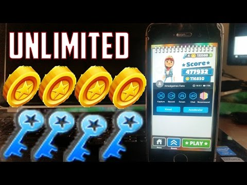 HOW TO GET MORE COINS ON SUBWAY SURFER FREE IOS 7/8/9 CYDIA OR ANDROID