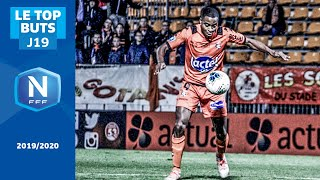 Le Top buts (J19) I National FFF 2019-2020