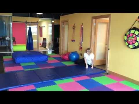Rolling & Crawling Exercise to help with Sensory Processing and Attention
