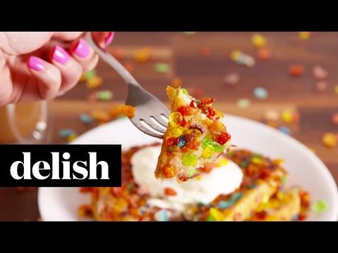 Fruity Pebble French Toast | Delish