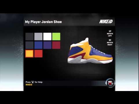 NBA 2K12 My Player: Create a Shoe III - Jordan shoe Endorsement + Bonus