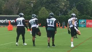Brandon Graham back at Eagles practice