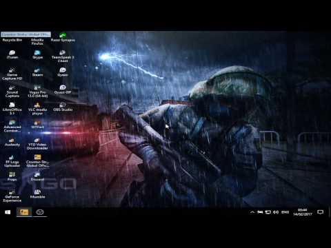 CSGO: How to play 4:3 Stretched (No black bars) on Windows 10 in 2018