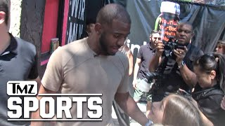 Chris Paul -- Befriends Little Girl with Scoliosis, We Got the Same Doc! | TMZ Sports