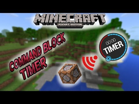 MCPE :: Add Timers to Command Blocks :: Minecraft Pocket Edition 1.1