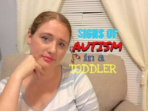 SIGNS OF AUTISM IN TODDLERS & CHILDREN