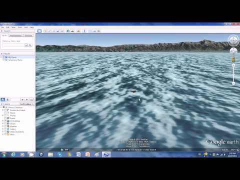 Google Earth 3D: Squid vs. Whale