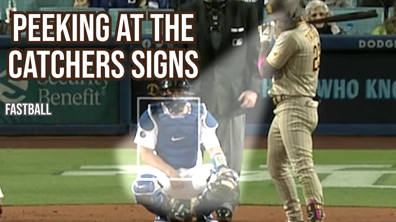 Fernando Tatís Jr  peeks at the sign before hitting a homer, a breakdown