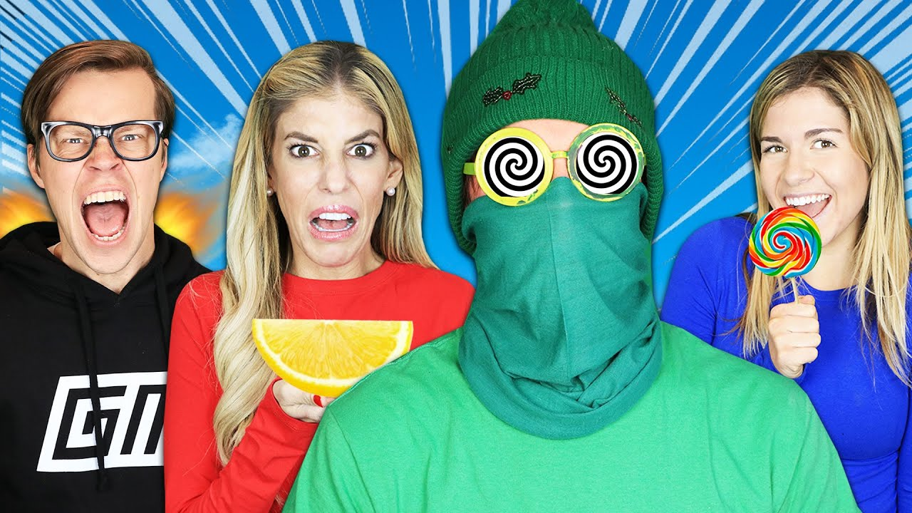 Matt's Best Friend is Hypnotized in Hot vs Sweet vs Sour Challenge!  Game Master Network