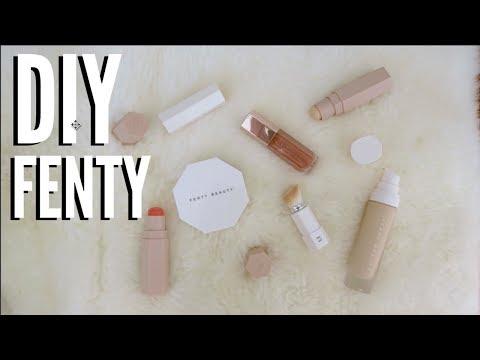 DIY FENTY BEAUTY Killawatt Highlighter! Beauty on a BUDGET!