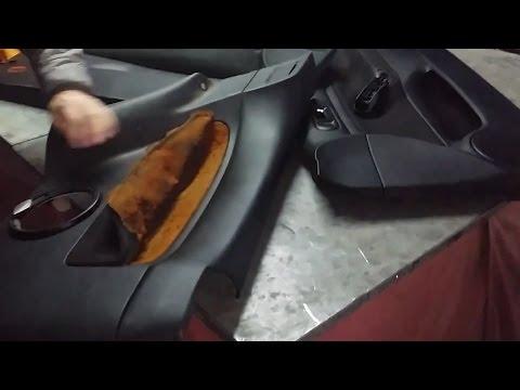 VW Golf Mk4 97-04 Αλλαγή ταπετσαρίας σε πόρτα Repair  Car Door Panel Upholstery