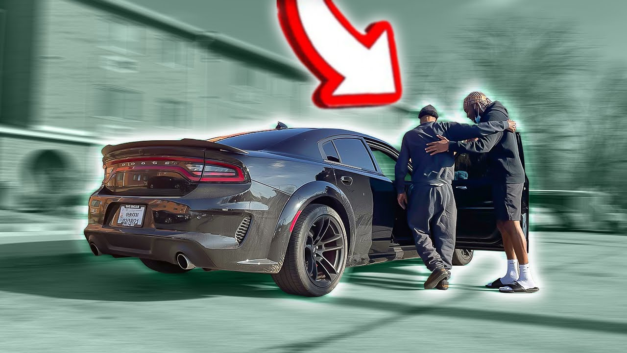 I Took My 80 YEAR OLD GRANDPA For A Ride In My 2021 WIDEBODY SRT!! *HILARIOUS*