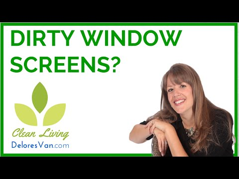 Norwex Clean Green Natural How to Wash / Washing Window Mesh Screens / Be Self-Employed NEW Jobs