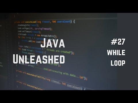 #27 Java While Loop Explained