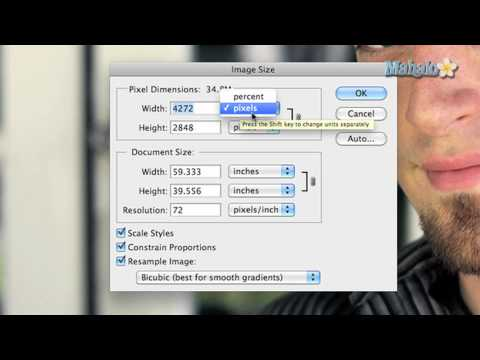 Learn Adobe Photoshop - Image Size Options