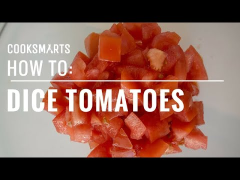How to Dice Tomatoes | by @cooksmarts