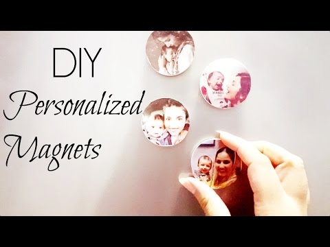 DIY Personalized Magnets