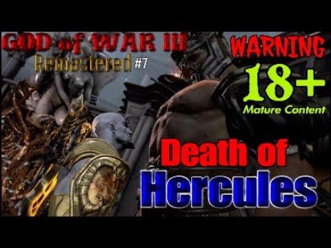 GOD of WAR III Remastered Death of Hercules #7 WARNING 18+