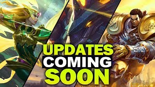 All New Champion Updates and Reworks coming soon to League of Legends
