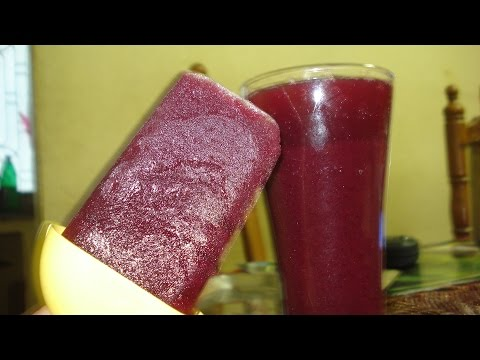 black grape juice(popsicle)