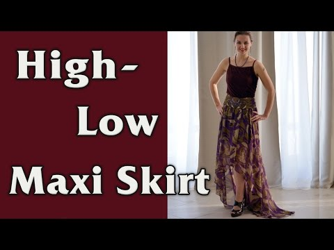 DIY - High Low Maxi Circle Skirt Tutorial