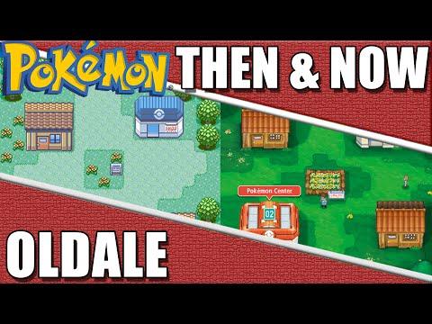 Pokemon Then & Now - Oldale Town Comparison
