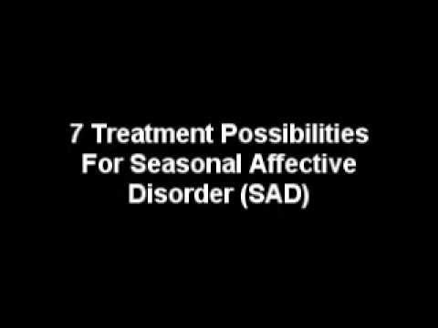 Treating Seasonal Affective Disorder SAD