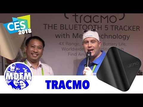 Bluetooth 5 Tracker - TracMo - from CES 2018