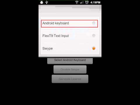 Installing Swype on MIUI for Android