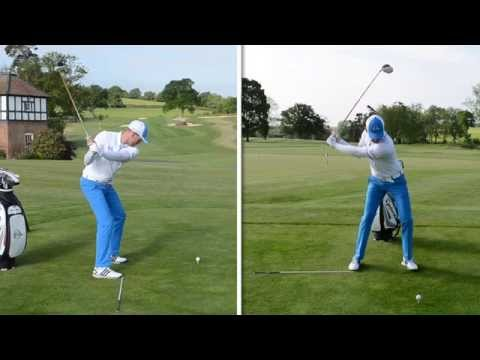 SIMPLE GOLF SWING ROTATION DRILL FOR CONSISTENCY