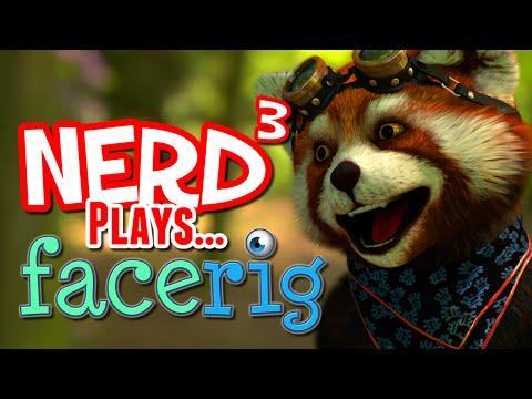 Nerd³ Plays... FaceRig