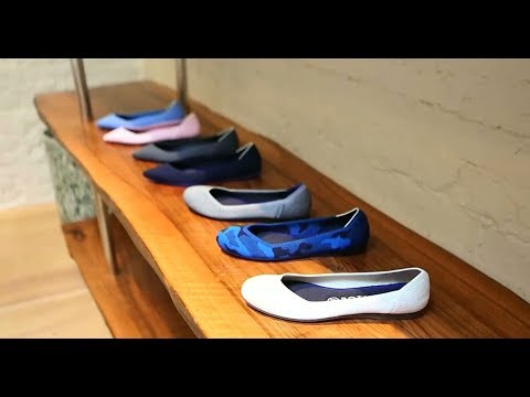 Shoes made from recycled plastic bottles leave eco-friendly footprint