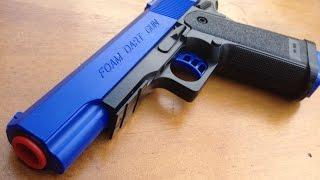 """""""Whats inside"""" the Foam Dart Gun - Detective Toy Gun Internals"""