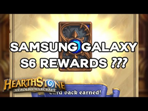 [Hearthstone] How to get the Samsung Galaxy S6 Card Back and 3 Free Packs (Fixes)