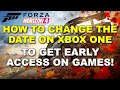 How to Change the Date on Xbox One to Get Early Access To Restricted Content in Games