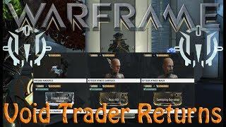 Warframe - Void Traders Returned! 75th Rotation