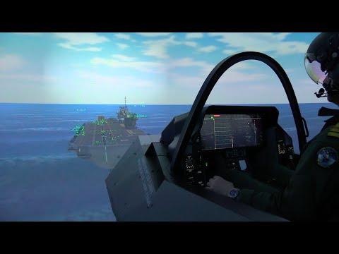 Cdr Blackmore, Air Commander for HMS Queen Elizabeth