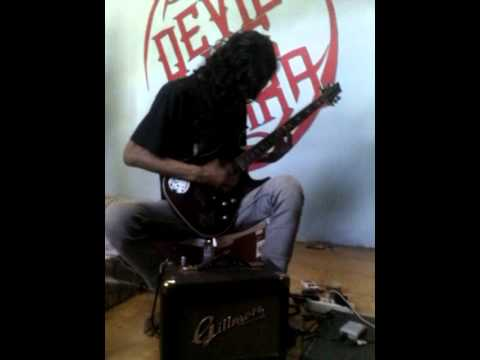 Mike Guitar Solo  Human Remind 02 Disorder Of Humanity