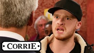 Tyler Accuses Robert of Murdering Vicky   Coronation Street
