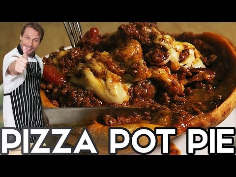 PIZZA POT PIE RECIPE IS GOING VIRAL