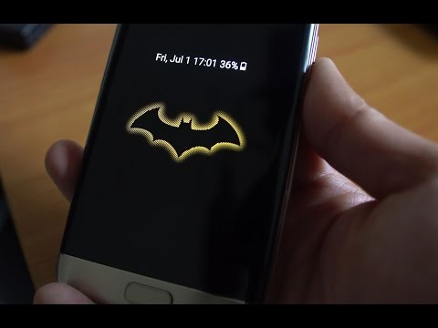 Galaxy S7 Edge Batman Injustice Edition Conversion for All Galaxy Phones!
