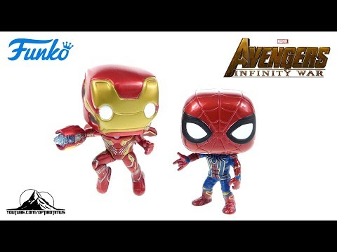 Optibotimus Reviews: Funko Pop! Avengers Infinity War IRON MAN and IRON SPIDER
