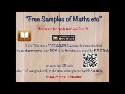 iBooks - Apple (UK) Free Maths eBbook Samples | Mathslearning.com