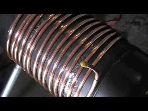Gas Bottle Wood Stove Heat Exchanger