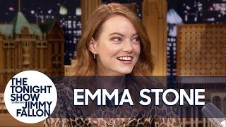 Download Emma Stone Involuntarily Screamed Watching BTS's SNL Sound Check Video