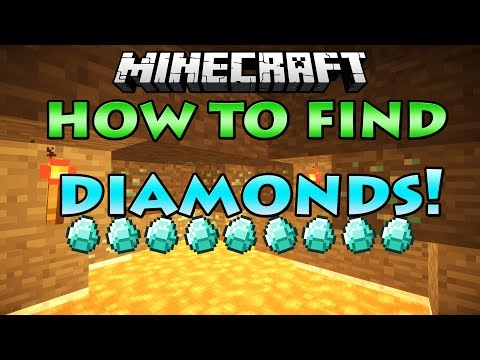 Minecraft - How To Find DIAMONDS, Fast and Easy! [1.8/1.9] (HD AND 60FPS)